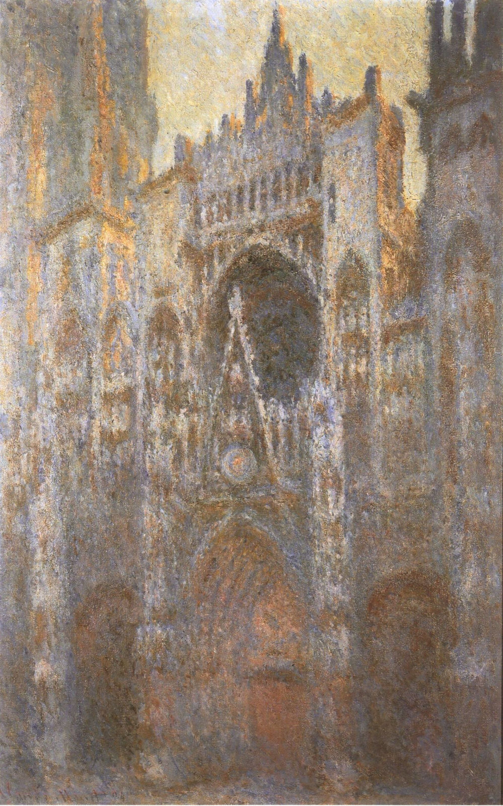 rouen cathedral monet analysis essay