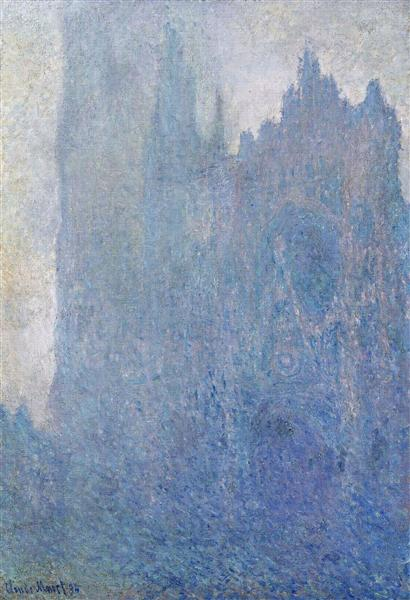 Rouen Cathedral in the Fog, 1894 - Claude Monet