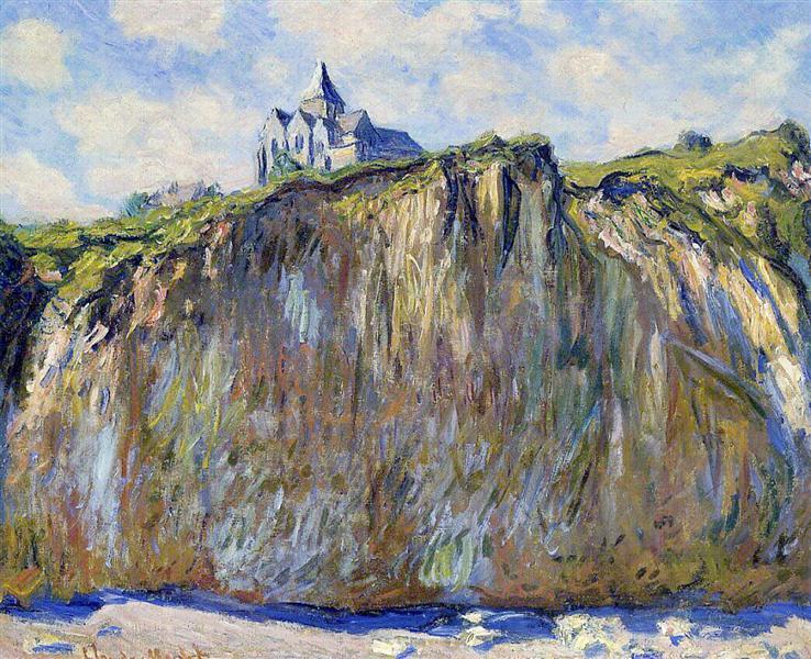 The Church at Varengeville, 1882 - Claude Monet