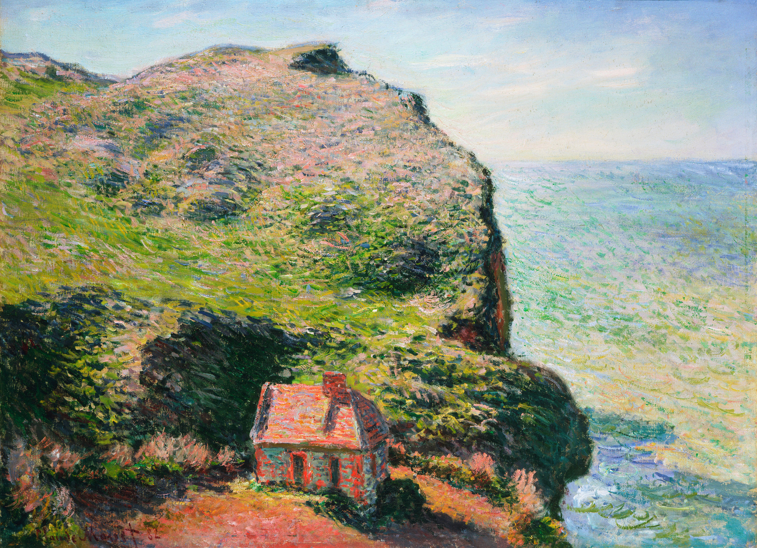 The estaque, 1882 - Pierre-Auguste Renoir - WikiArt.org