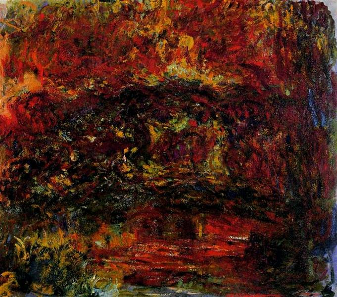 The Japanese Bridge, 1918 - 1924 - Claude Monet