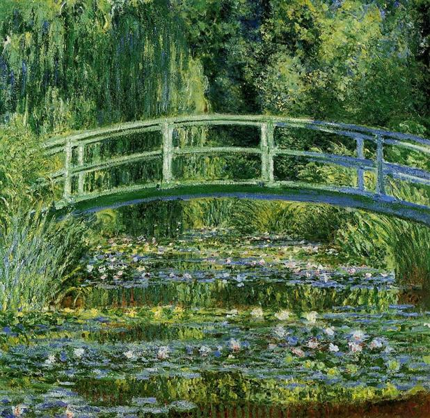 The Japanese Bridge (The Water-Lily Pond), 1897 - 1899 - Claude Monet