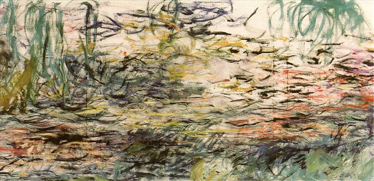 Water Lilies, 1917 - 1920 - Claude Monet
