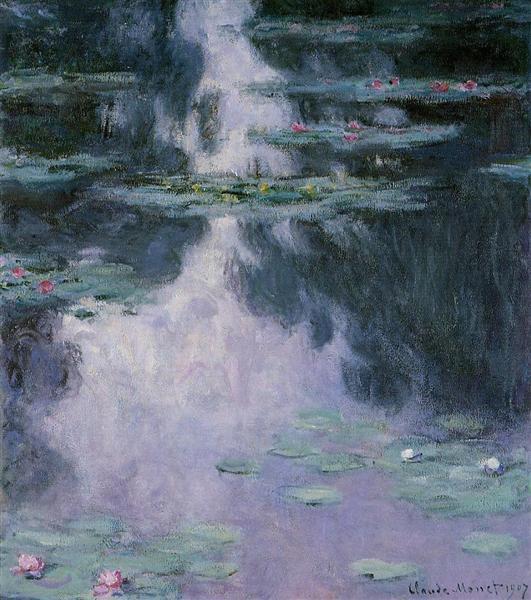 Water Lilies (Nympheas), 1907 - Claude Monet