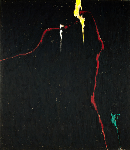 1944-N No. 1, 1944 - Clyfford Still