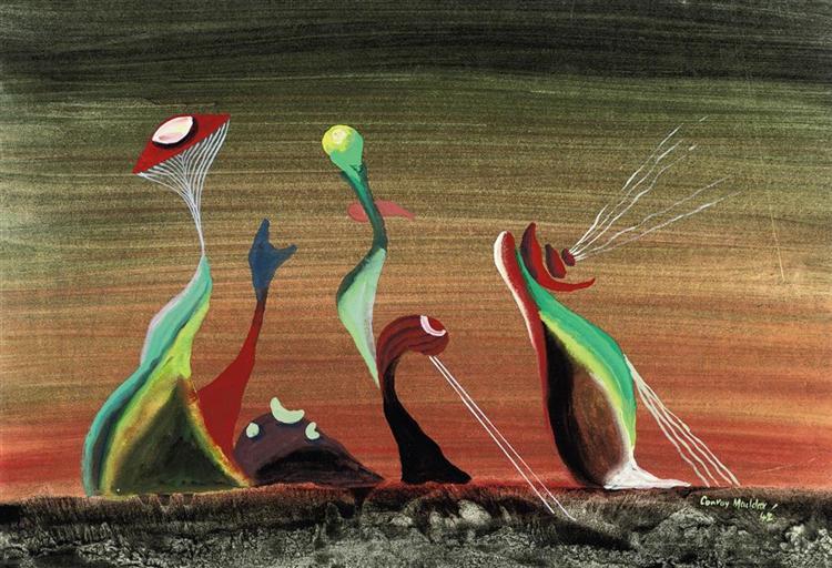 Earth Bound, 1942 - Conroy Maddox