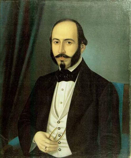 Portrait of Teodor Arion, 1848 - Constantin Daniel Rosenthal