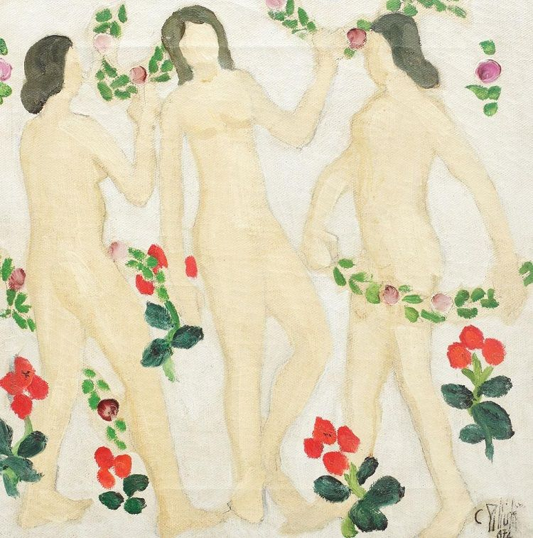 The Three Graces, 1972