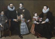 Family Portrait - Корнелис де Вос