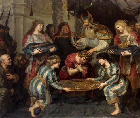 Salbung Salomos, c.1630 - Cornelis de Vos