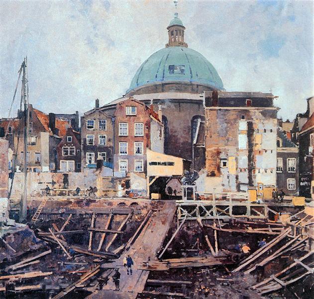 Building Well With Church Amsterdam - Корнелис Вреденбург
