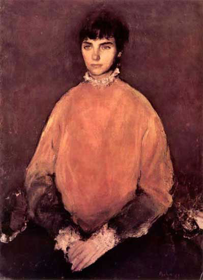 Potrait of a Girl - Corneliu Baba
