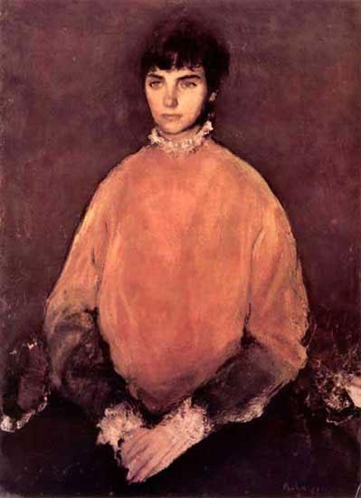Potrait of a Girl - Corneliu Baba