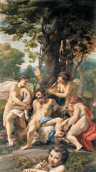 Allegory of the Vices, 1529 - 1530 - Correggio