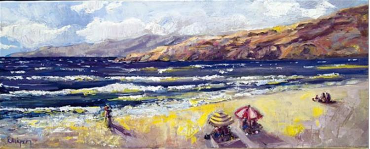 At the beach - Costas Niarchos