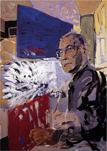 Portrait of Krzysztof Kieślowski - Costas Niarchos