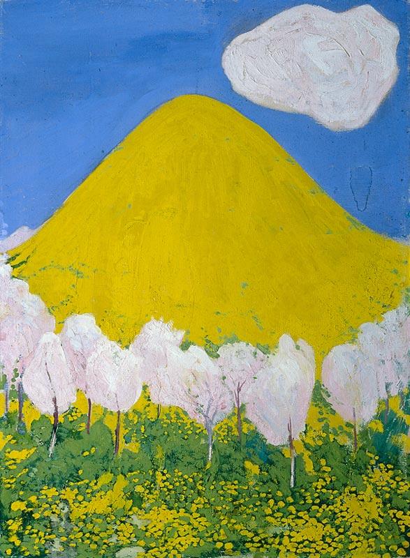 Der gelbe Hügel, 1903