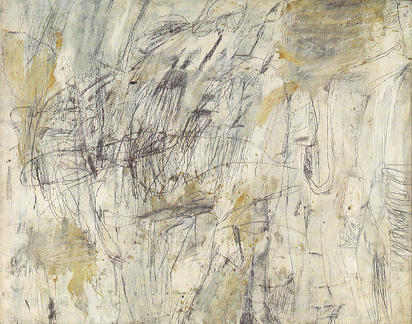 Untitled, 1954 - Cy Twombly