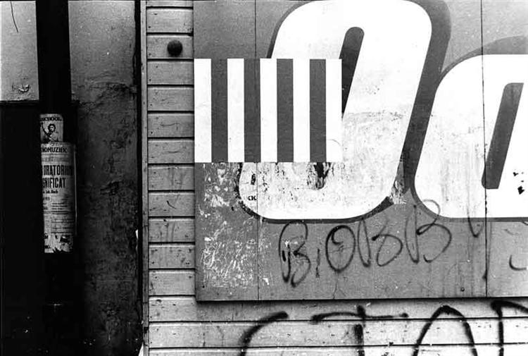 Sur les Murs, 1971 - Даниель Бюрен