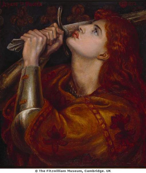 Joan of Arc, 1882 - Dante Gabriel Rossetti