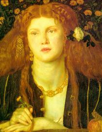 Kissed Mouth - Dante Gabriel Rossetti