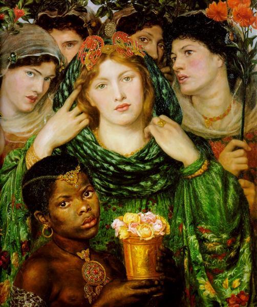 The Beloved, 1865 - 1866 - Dante Gabriel Rossetti