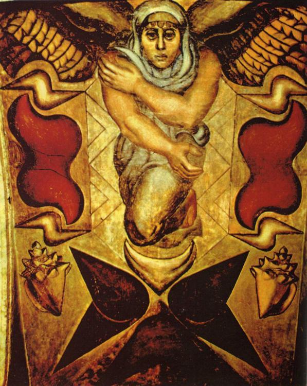 The elements 1922 david alfaro siqueiros for El mural de siqueiros