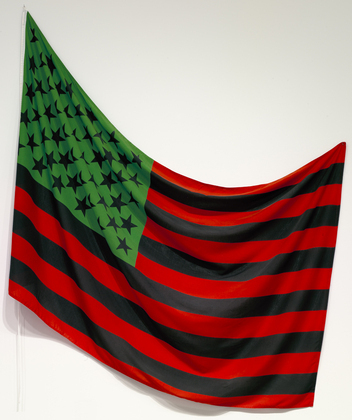 African-American Flag, 1990 - David Hammons