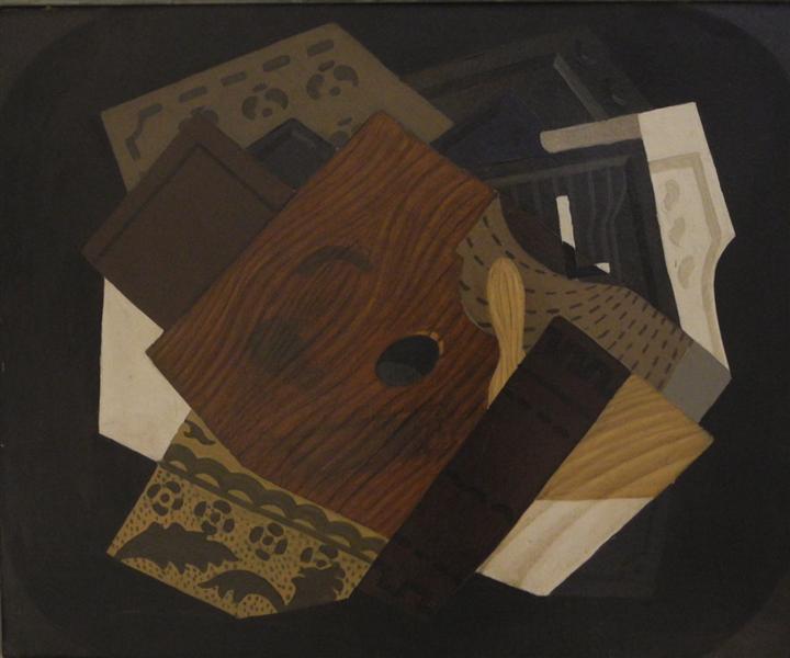 Cubist self-portrait, 1914 - David Kakabadze