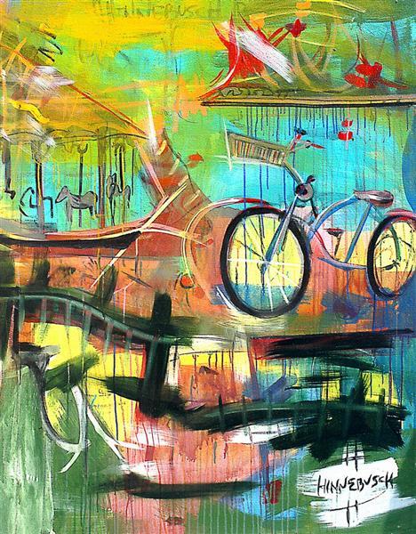 Carousel in Santa Monica, 2006 - David Michael Hinnebusch