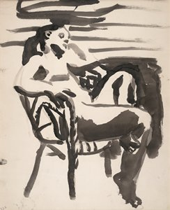 Figure in Chair, 1960 - David Park