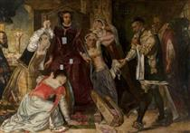 Mary, Queen of Scots, Receiving the Warrant for Her Execution - Девід Ск�тт