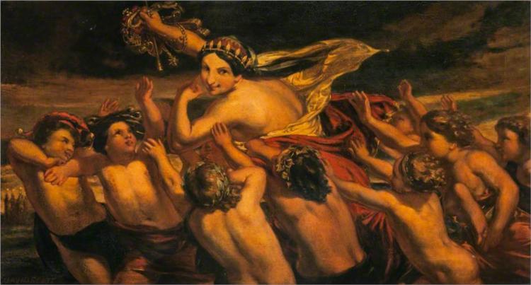 The Pursuit of Fortune, 1847 - David Scott