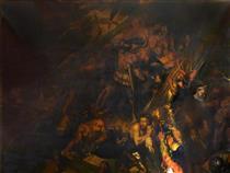 Vasco da Gama Encountering the Spirit of the Storm - Девід Ск�тт