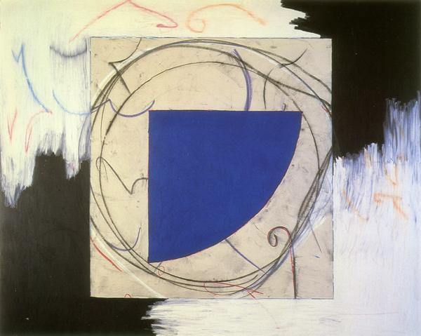 Blue Quadrant, 1984 - Denise Green