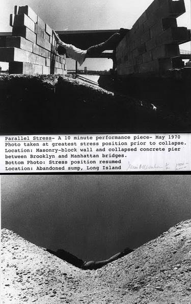 Parallel Stress, 1970 - Dennis Oppenheim