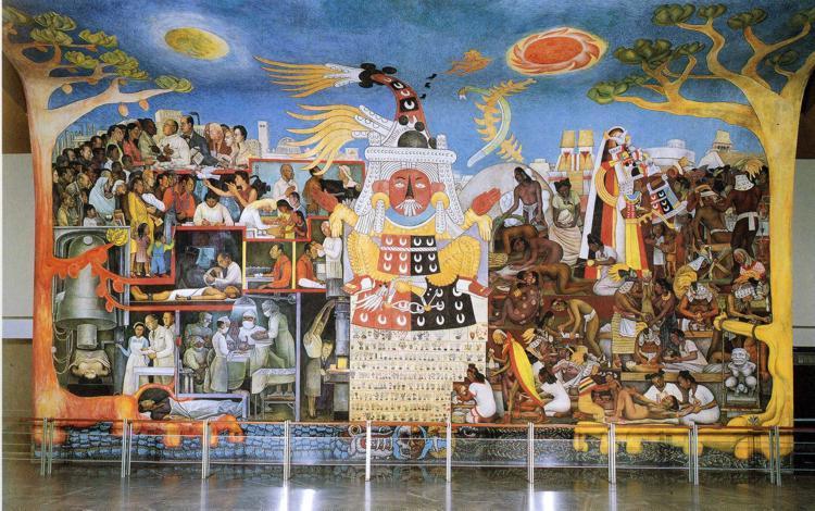 A History of Medicine, 1953 - Diego Rivera