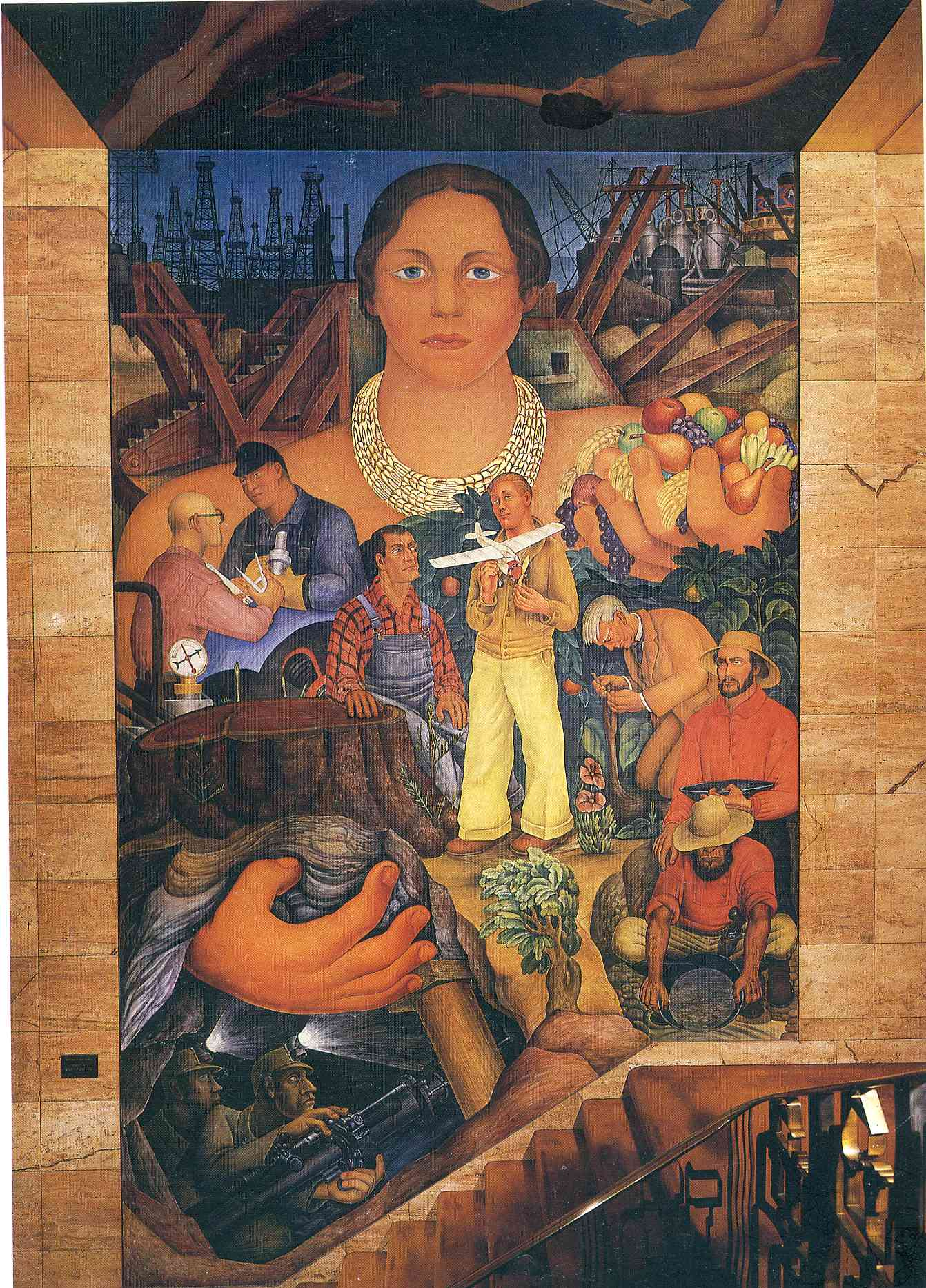 Diego Rivera S Style Of Painting Is What