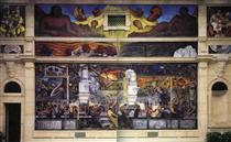 Detroit Industry, North Wall - Diego Rivera