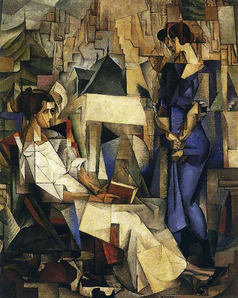Portrait of Two Women, 1914 - Diego Rivera