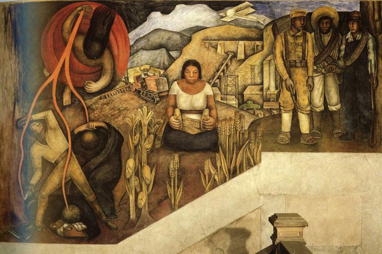 analyzing the diego riveras artistic piece symbolic landscape Zapatista landscape, 1915 by diego rivera courtesy in the lower-right-hand corner there's an unfolded piece of not just another follower of an artistic.