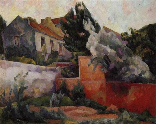 The Outskirts of Paris - Diego Rivera