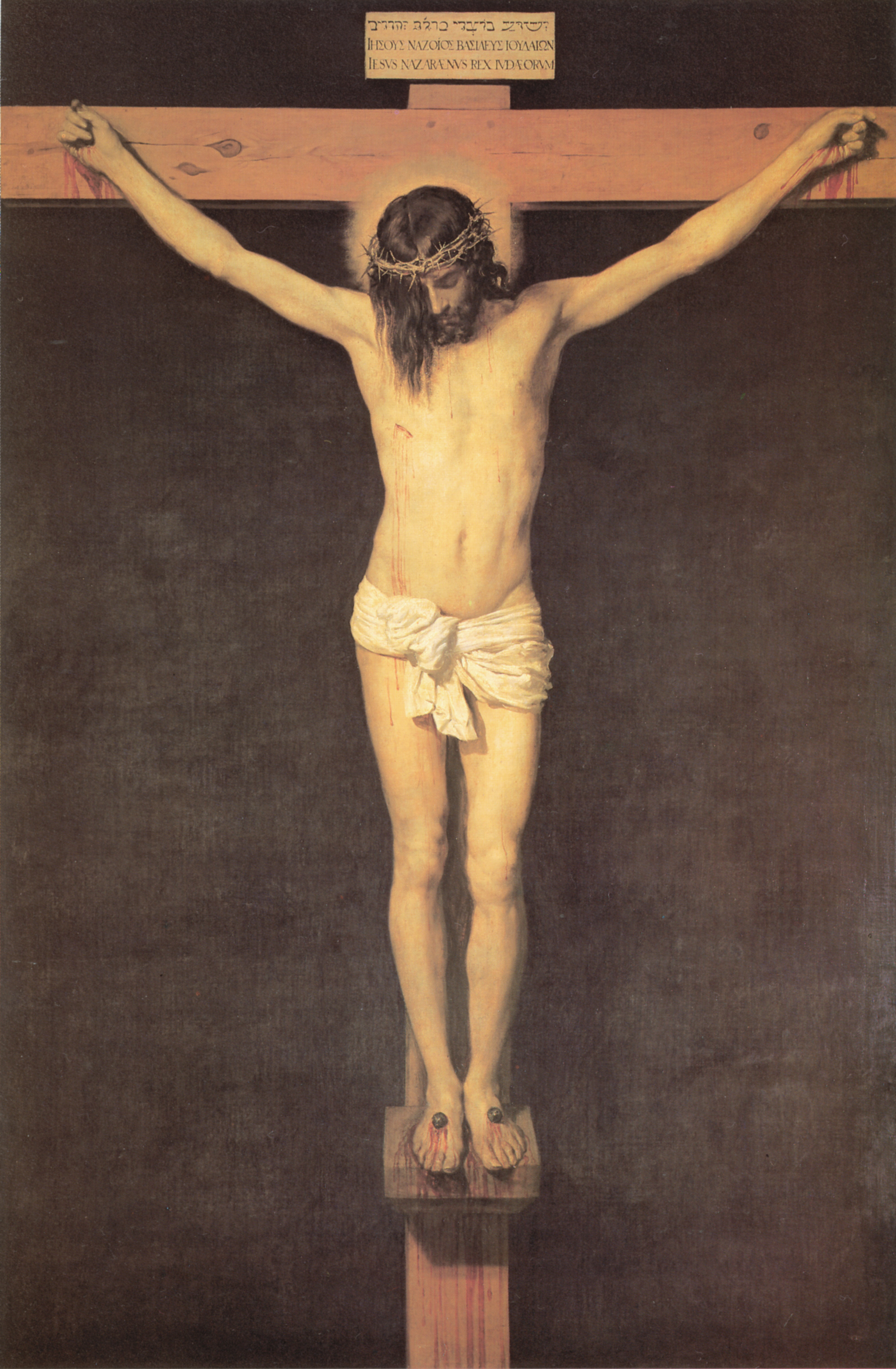 christ on the cross 1632 diego velazquez wikiart org