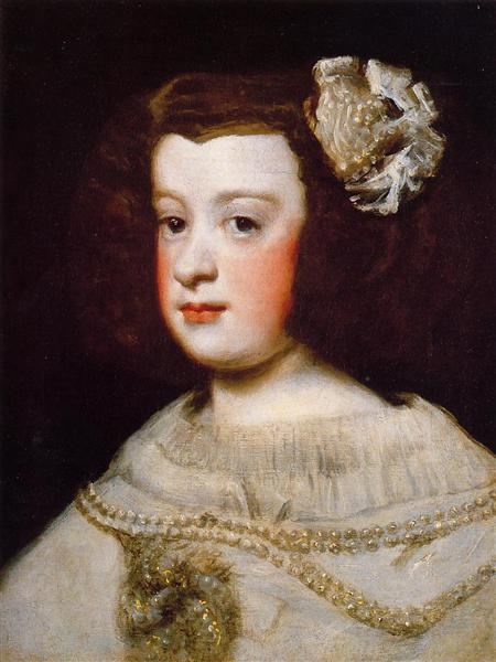 Infan Maria Teresa, 1648 - Diego Velázquez