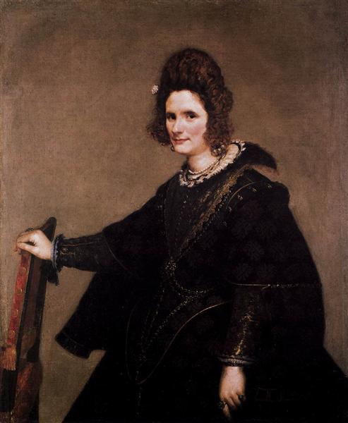 Portrait of a Lady, 1633 - Diego Velazquez