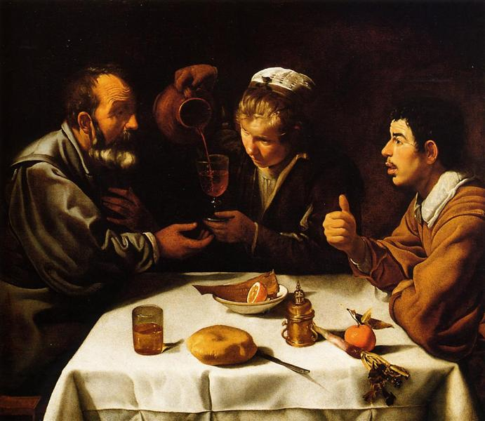 The Lunch - Velazquez Diego