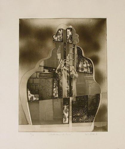 Selbstbildnis als Pariser (Self-Portrait as Parisian), 1973 - Dieter Roth