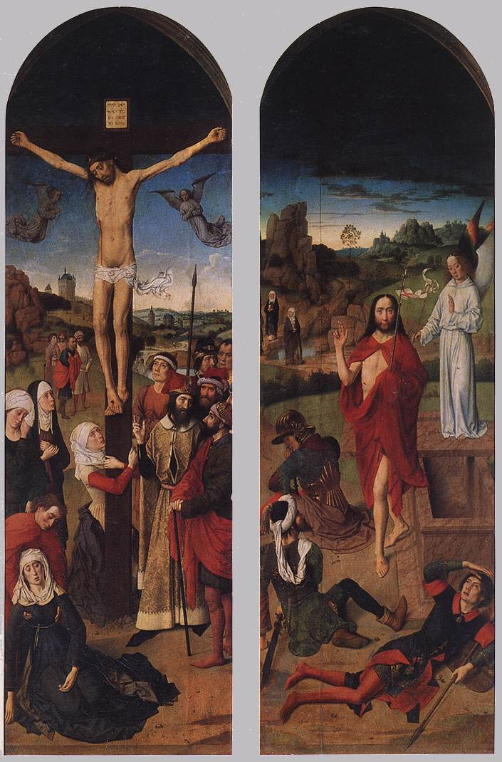 Passion Altarpiece (side wings), 1455