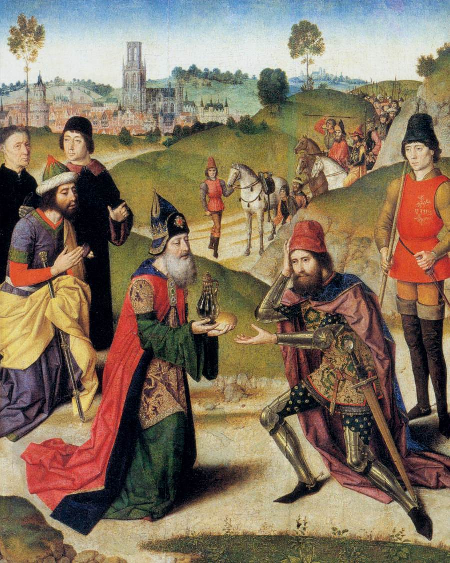 The Meeting of Abraham and Melchizedek, 1465