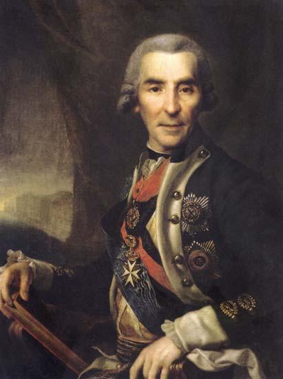 Ivan Golenishcev-Kutuzov, c.1785 - Dmitri Levitski